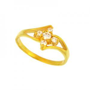 22 Kt Solid Yellow Gold Ri..